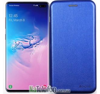 Чехол книжка U-Like Best для Samsung G973 Galaxy S10 Blue