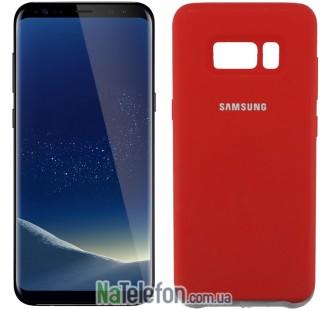 Чехол Original Soft Case для Samsung G955 Galaxy S8 Plus Красный