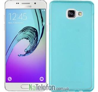 Чехол Original Silicone Case для Samsung A510 (A5-2016) Blue