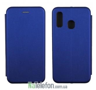Чехол книжка U-Like Best для Samsung A405 Galaxy A40 2019 Blue