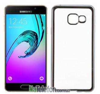 Чехол Electroplating TPU case для Samsung A510 silver