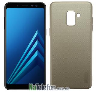 Чехол X-Level Hero series для Samsung A730 Galaxy A8+ (2018) Gold