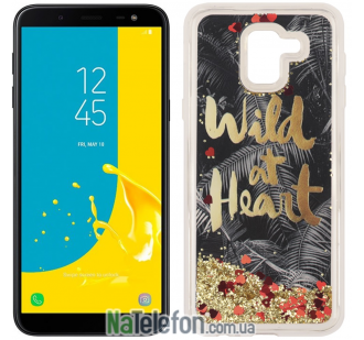Чехол U-Like Aqua для Samsung J600 Wild