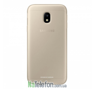 Чехол Carbon для Samsung J3 2017 / J330 Gold