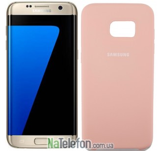 Чехол Original Soft Case для Samsung G930 Galaxy S7 Розовый