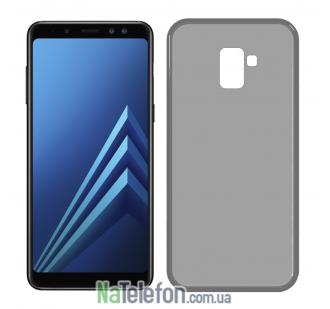 Чехол Ultra-thin 0.3 для Samsung A730 Galaxy A8 Plus 2018 Black