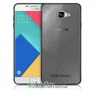 Ультра тонкий силиконовый чехол Remax 0.2 mm для Samsung G928 (S6 Edge Plus) Black
