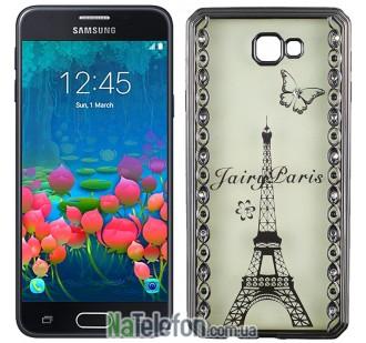 Чехол Joyroom Beauti Diamond Case для Samsung J5 Prime Silver Fairy