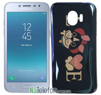 Чехол U-Like Picture series для Samsung J250 (J2 2018) Love Balck