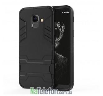 Чехол HONOR Hard Defence Series для Samsung A530 Galaxy A8 2018 Black