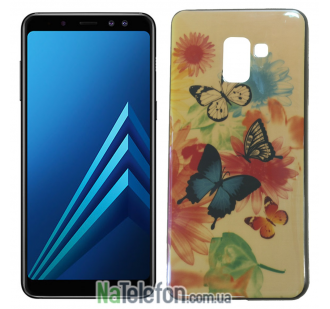 Чехол U-Like Picture series для Samsung A530 (A8 2018) Butterfly