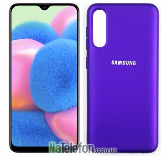 Чехол Original Soft Case для Samsung A30s 2019 Фиолетовый FULL
