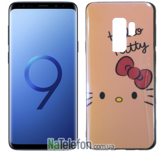 Чехол U-Like Picture series для Samsung G965 Galaxy S9 Plus Hello Kitty