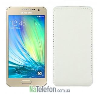 Чехол книжка MOBIKING Samsung A300 (A3) White
