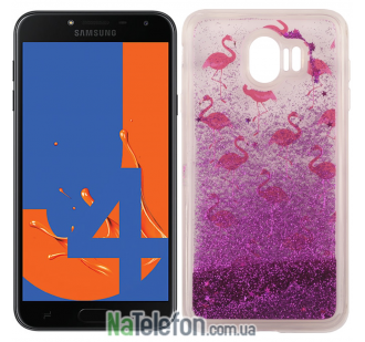 Чехол U-Like Aqua Case для Samsung J400 Flamingo
