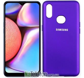 Чехол Original Soft Case для Samsung A10s 2019 Фиолетовый FULL
