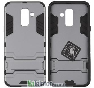 Ударопрочный чехол HONOR для Samsung A730 Galaxy A8 Plus 2018 Space Gray