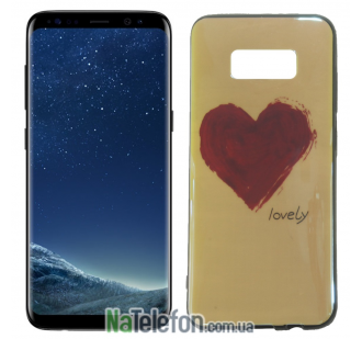 Чехол U-Like Picture series для Samsung G955 Galaxy S8 Plus Heart Blue