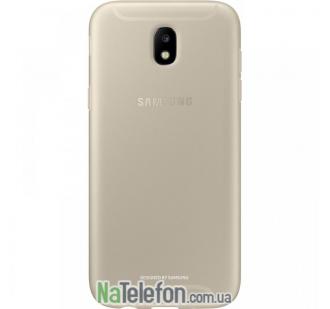 Чехол Carbon для Samsung J5 2017 / J530 Gold