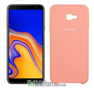 Чехол Original Soft Case для Samsung J4 Plus 2018 (J415) Персиковый