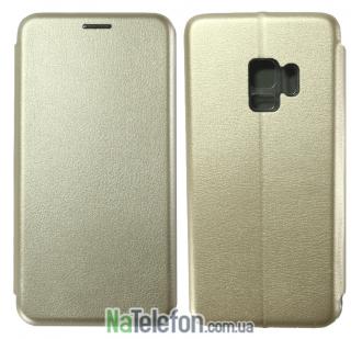 Чехол книжка U-Like Best для Samsung G960 Galaxy S9 Gold