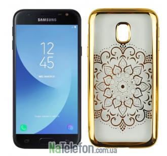 Силиконовый чехол Beckberg Breathe seria для Samsung J3 (2017) J330 Солнце