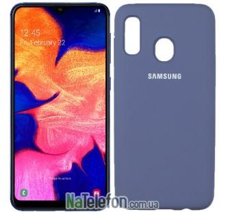 Чехол Original Soft Case для Samsung A30 2019 Светло серый FULL
