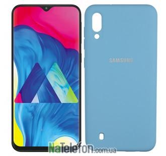 Чехол Original Soft Case для Samsung M105 Galaxy M10 Ярко синий FULL
