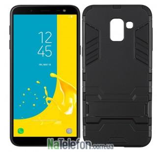 Чехол HONOR Hard Defence Series для Samsung J600 Galaxy J6 Black