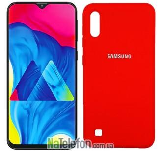 Чехол Original Soft Case для Samsung M105 Galaxy M10 Красный