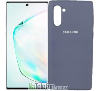 Чехол Original Soft Case для Samsung Note 10 Светло Серый FULL