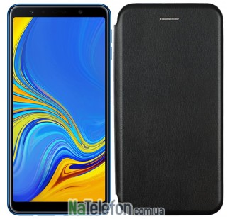 Чехол книжка U-Like Best для Samsung Galaxy A7 2018 (A750) Black