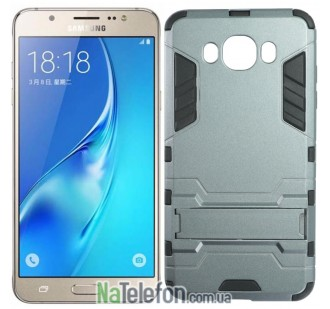 Чехол HONOR Hard Defence Series для Samsung J710 Galaxy J7 2016 Space Gray