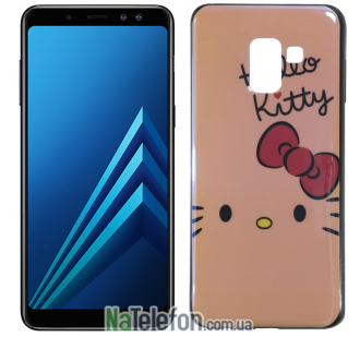 Чехол U-Like Picture series для Samsung A730 (A8 Plus 2018) Hello Kitty