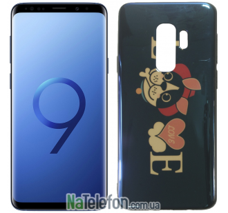 Чехол U-Like Picture series для Samsung G965 Galaxy S9 Plus Love Balck