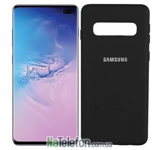Чехол Original Soft Case для Samsung G975 Galaxy S10 Plus Чёрный FULL