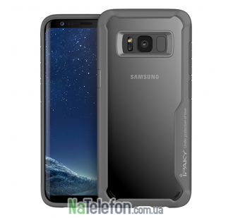 Накладка iPaky (OR) Survival TPU + Bumper for Samsung G955 Galaxy S8 Plus Grey