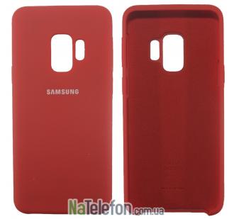 Чехол Original Soft Case для Samsung G960 Galaxy S9 Красный