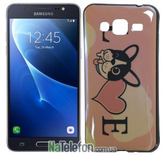 Чехол U-Like Picture series для Samsung J300/J320 Love Pink