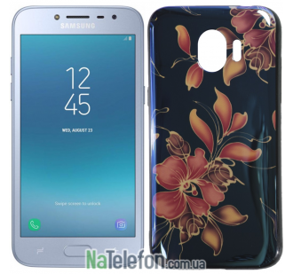 Чехол U-Like Picture series для Samsung J250 (J2 2018) Flowers