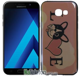 Чехол U-Like Picture series для Samsung A520 (A5 2017) Love Pink