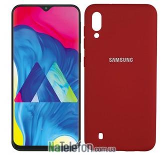 Чехол Original Soft Case для Samsung M105 Galaxy M10 Красный FULL