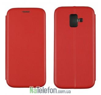 Чехол книжка U-Like Best для Samsung Galaxy A6 2018 Red