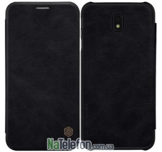 Кожаный чехол книжка NILLKIN Qin series Samsung J530 (J5-2017) Black