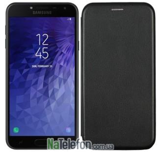 Чехол книжка U-Like Best для Samsung Galaxy J4 2018 Black