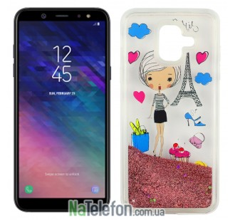 Чехол U-Like Aqua Case для Samsung A6 2018 (A600) Lady