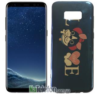 Чехол U-Like Picture series для Samsung G955 Galaxy S8 Plus Love Balck