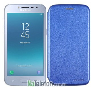 Чехол книжка U-Like Best для Samsung Galaxy J250 (J2 2018) Blue