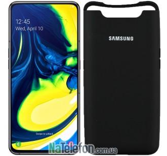 Чехол Original Soft Case для Samsung A80 2019 Черный FULL
