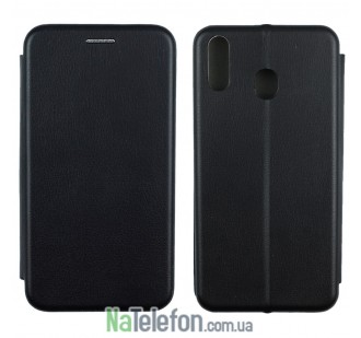 Чехол книжка U-Like Best для Samsung M205 Galaxy M20 Black